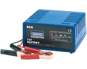 12V BATTERY CHARGER & TESTER - 4.5A