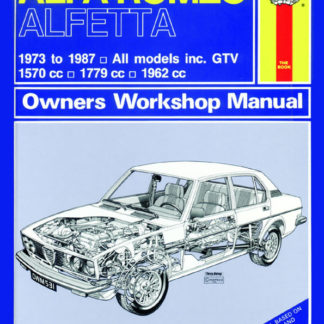 ALFA ROMEO Alfetta (73 - 87) up to E