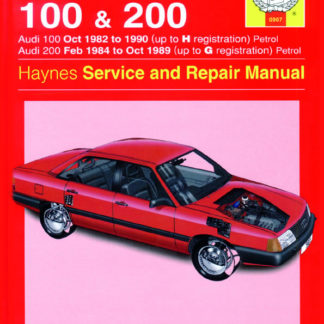 AUDI 100 Petrol (Oct 82 - 90) up to H, and 200 Petrol (Feb 84 -