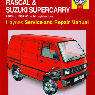 Bedford/Vauxhall Rascal and Suzuki Supercarry (86 - Oct 94) C to