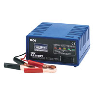 12V BATTERY CHARGER & TESTER - 6A